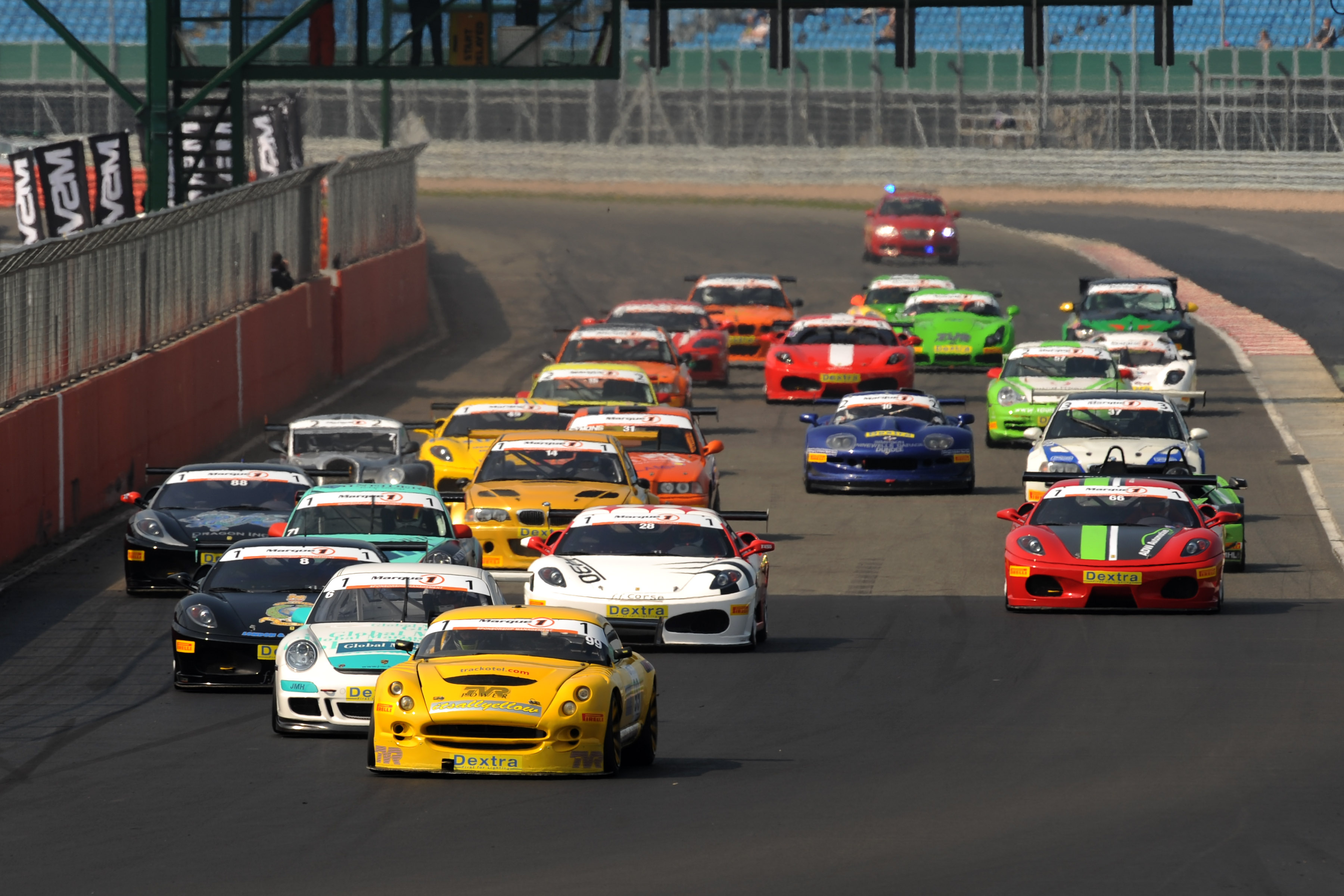 MSVR News - The GT Cup Opens In Style At Silverstone