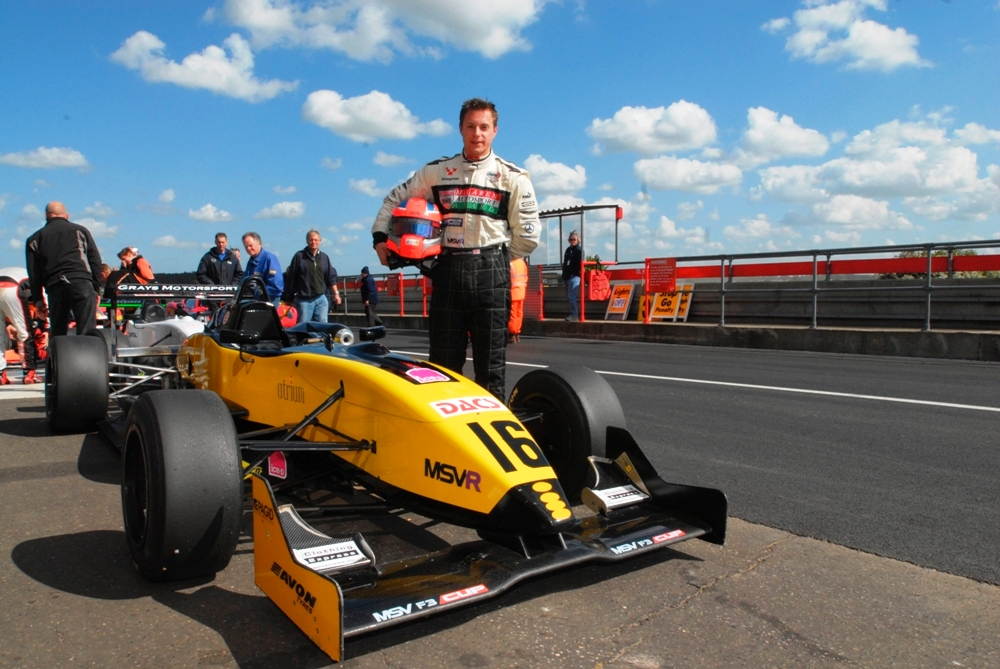 MSVR News - Steele back on top in the F3 Cup