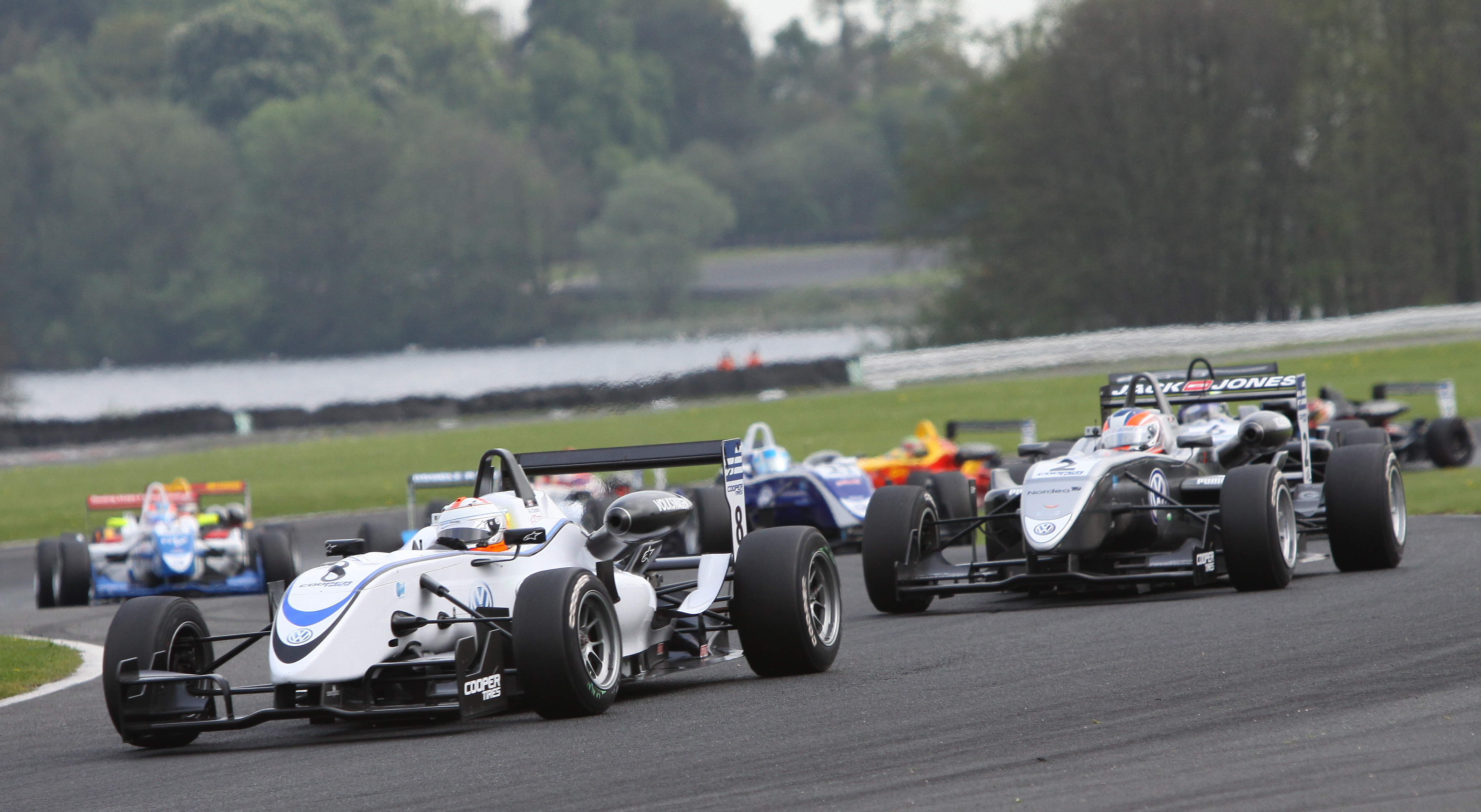 MSVR News - MSVR hosts F3/GT on the new Snetterton 300 circuit