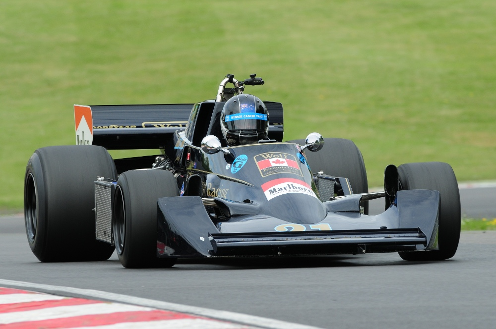 MSVR News - Historic racer enters every event at this weekend's Brands Hatch Masters Festival
