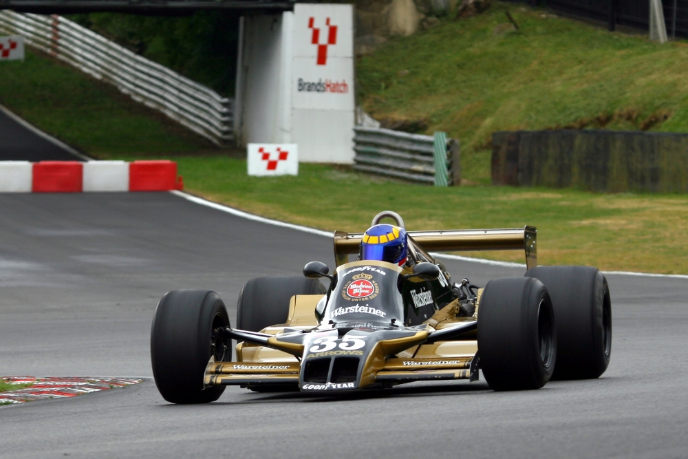 MSVR News - Iconic F1 cars ready for Masters Historic Festival battle at Brands Hatch