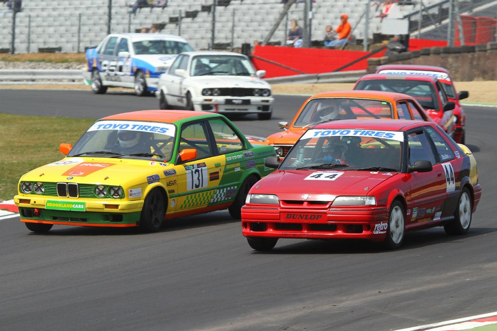 MSVR News - Bumper Project Eight Racing Saloons grid set for action at Brands Hatch GP