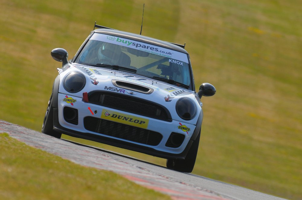 MSVR News - Knox ignites MINI Challenge title push with Brands Hatch treble