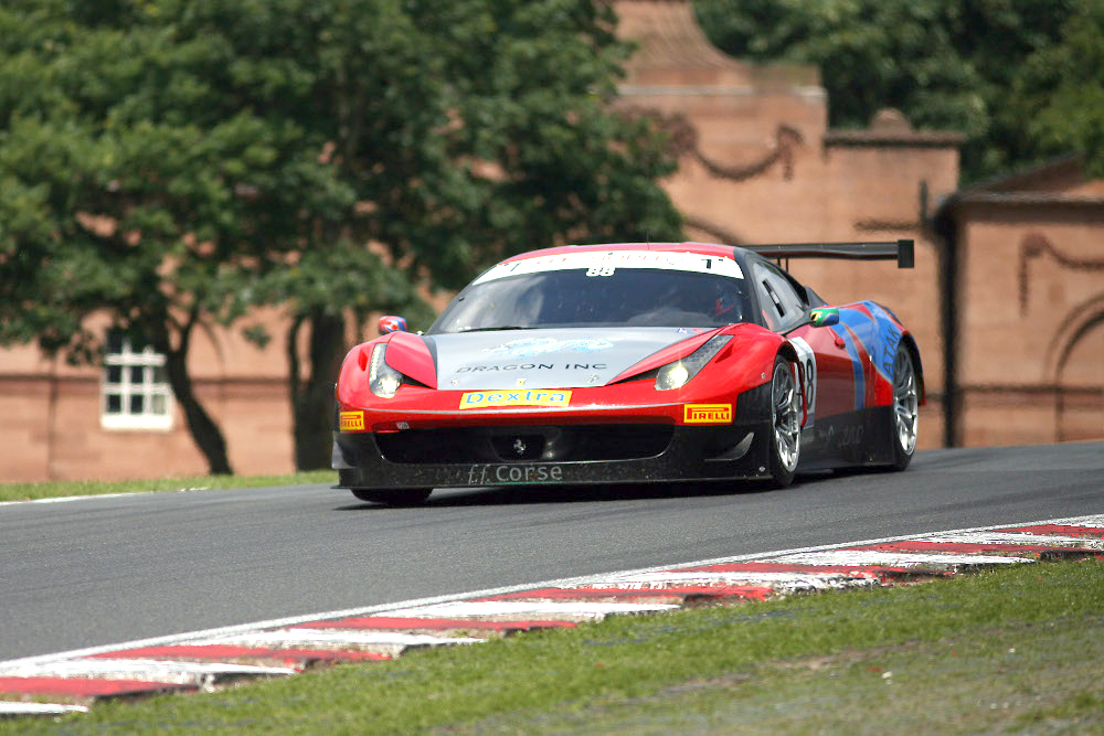 MSVR News - Ferrari 458 and Chevrolet Corvette set to join GT Cup Championship Donington grid