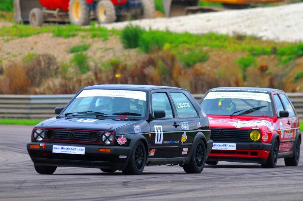 MSVR News - Five in the running for MK2 Golf GTI title at Snetterton showdown