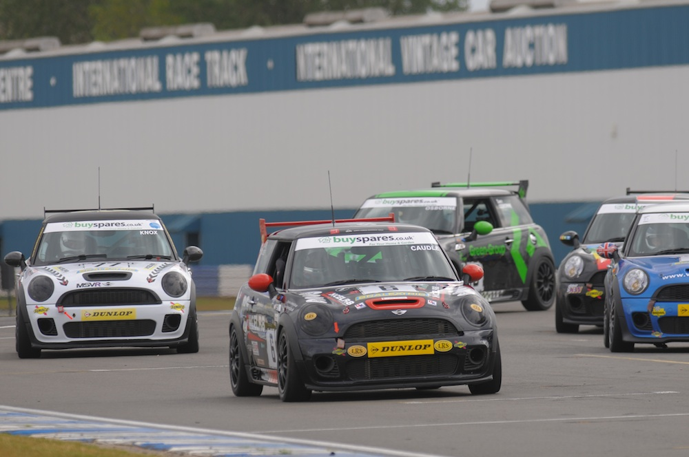 MSVR News - Three driver battle to decide MINI Challenge crown