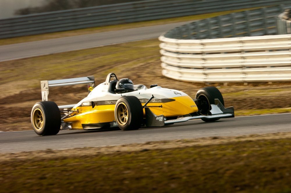 MSVR News - Tin Top champion James Cross plots challenge for 2012 F3 Cup title
