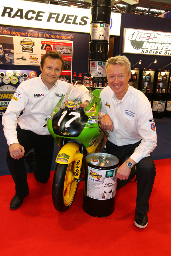 MSVR News - Sunoco Race Fuels win contract to provide fuel to BSB and become British 125GP Championship title sponsor