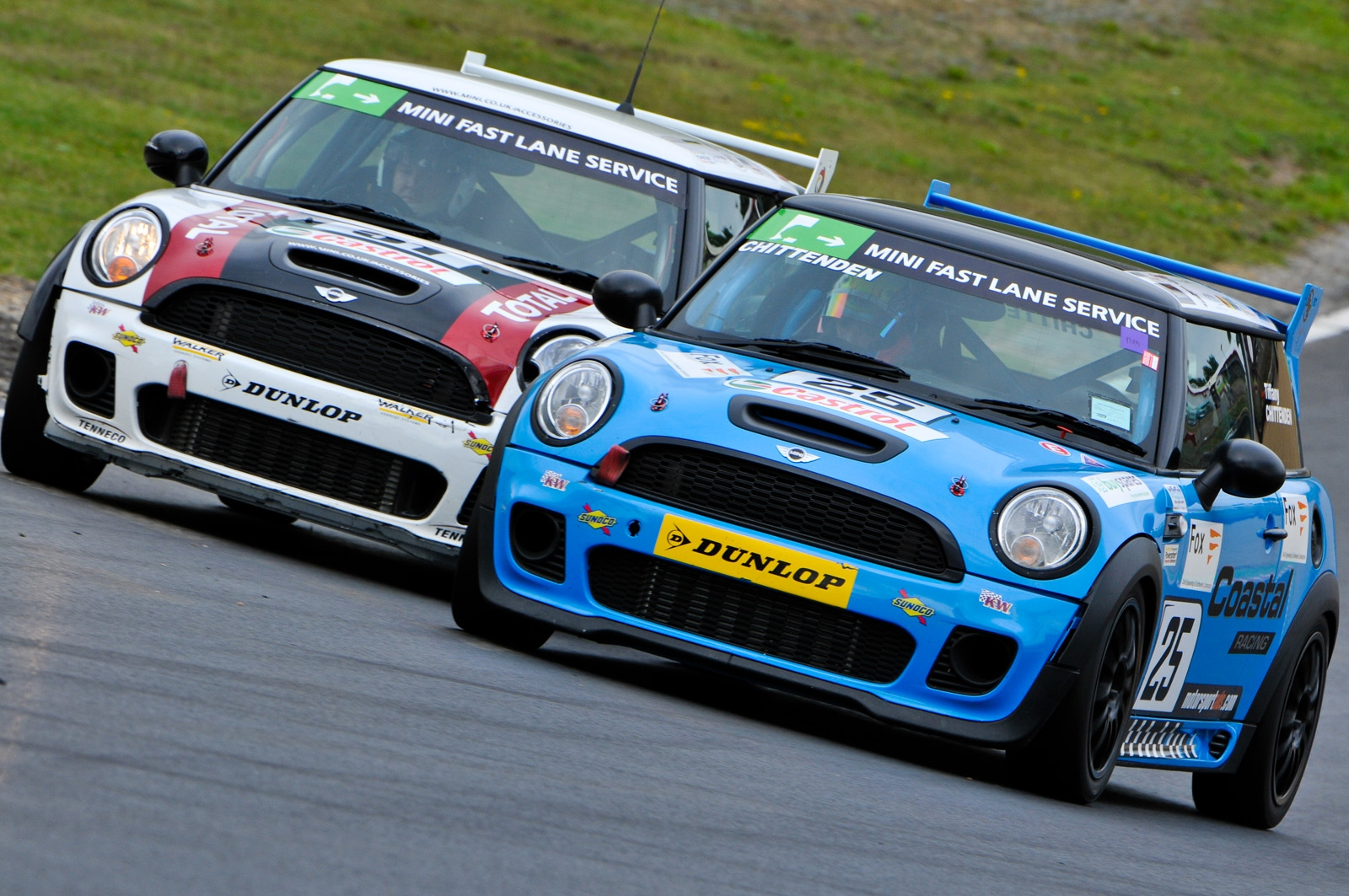 MSVR News - MINI Challenge 'try out' day at Brands Hatch