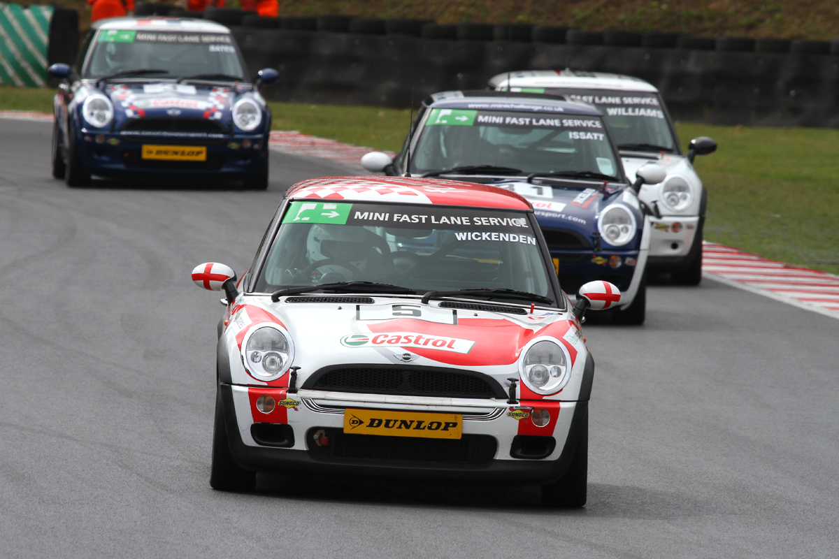 MSVR News - BTCC racers sign up for MINI Challenge 2011
