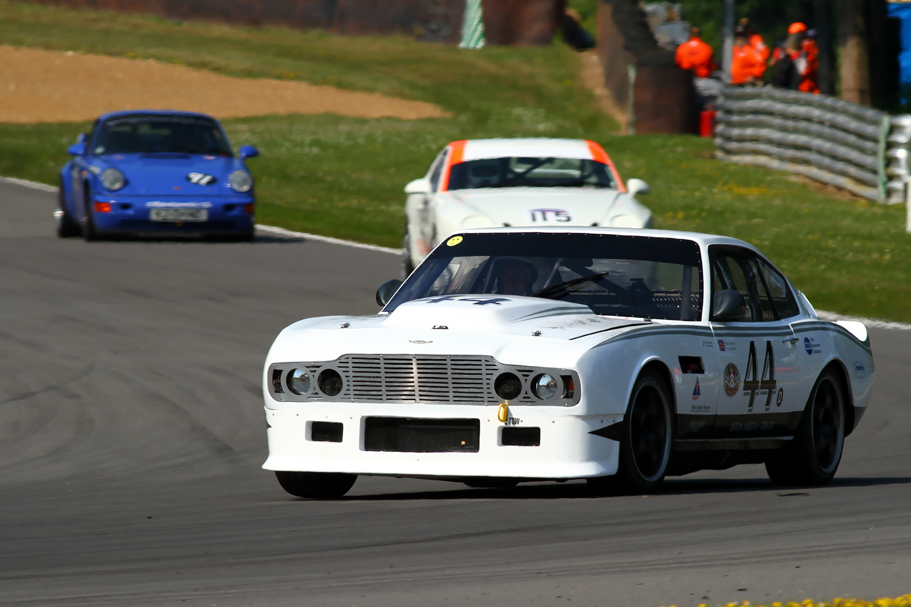 ASTON MARTINS TAKE ON GP AND INDY CIRCUITS THIS WEEKEND