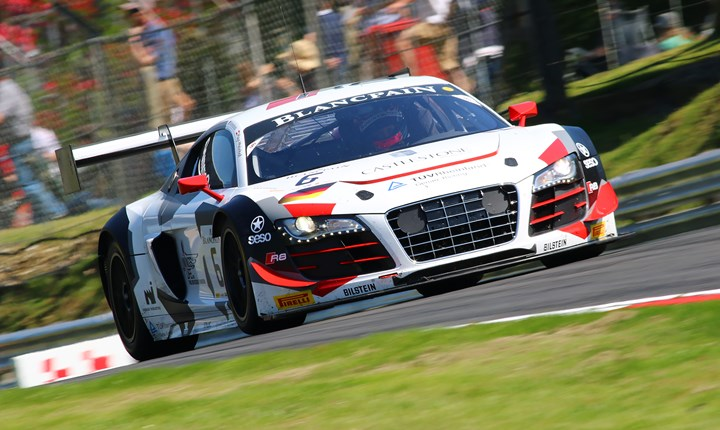 MSVR News - FORMER F1 DRIVER WINKELHOCK RETURNS TO BOOSTED BLANCPAIN GRID