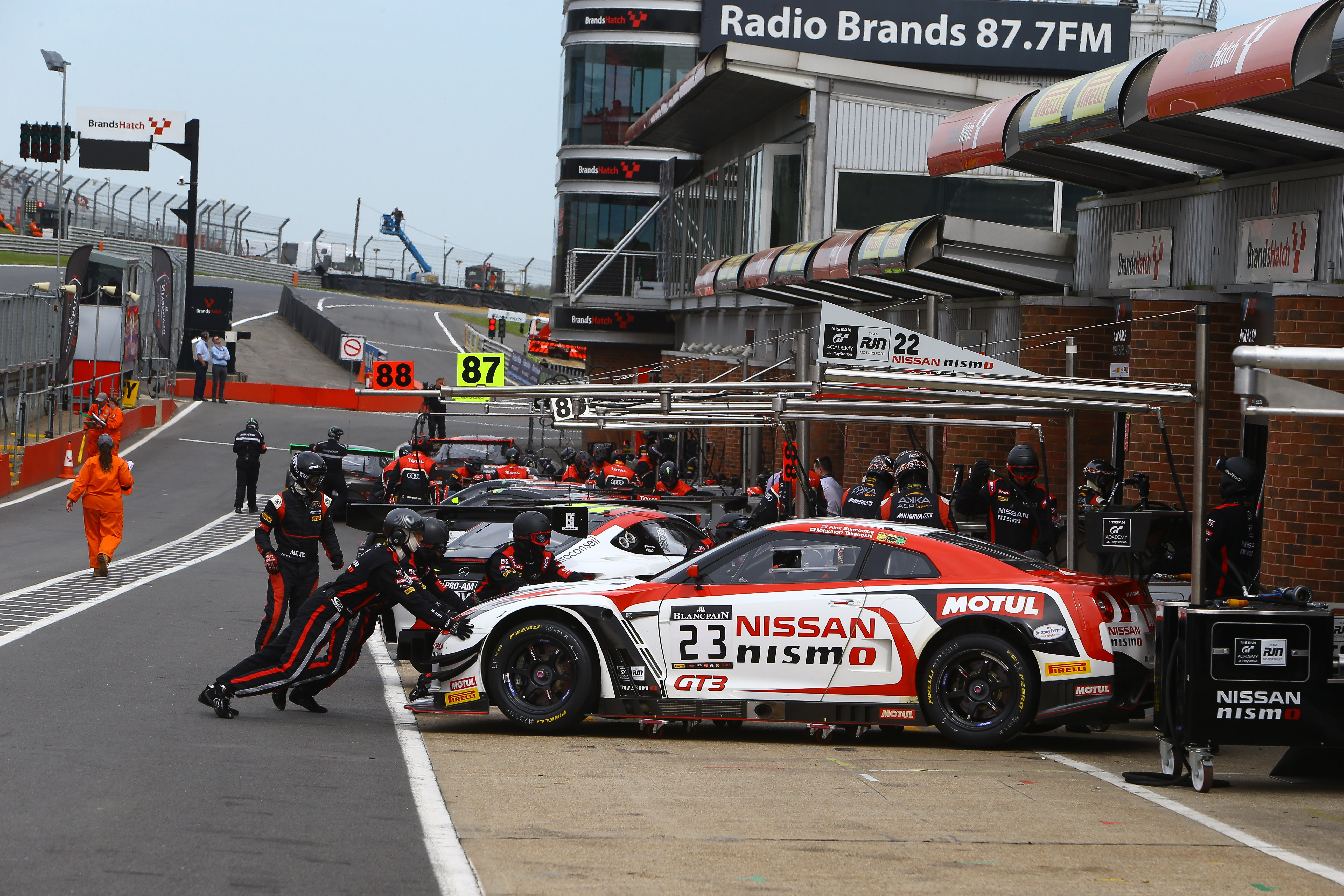 MSVR News - Blancpain GT Series returns to Brands Hatch