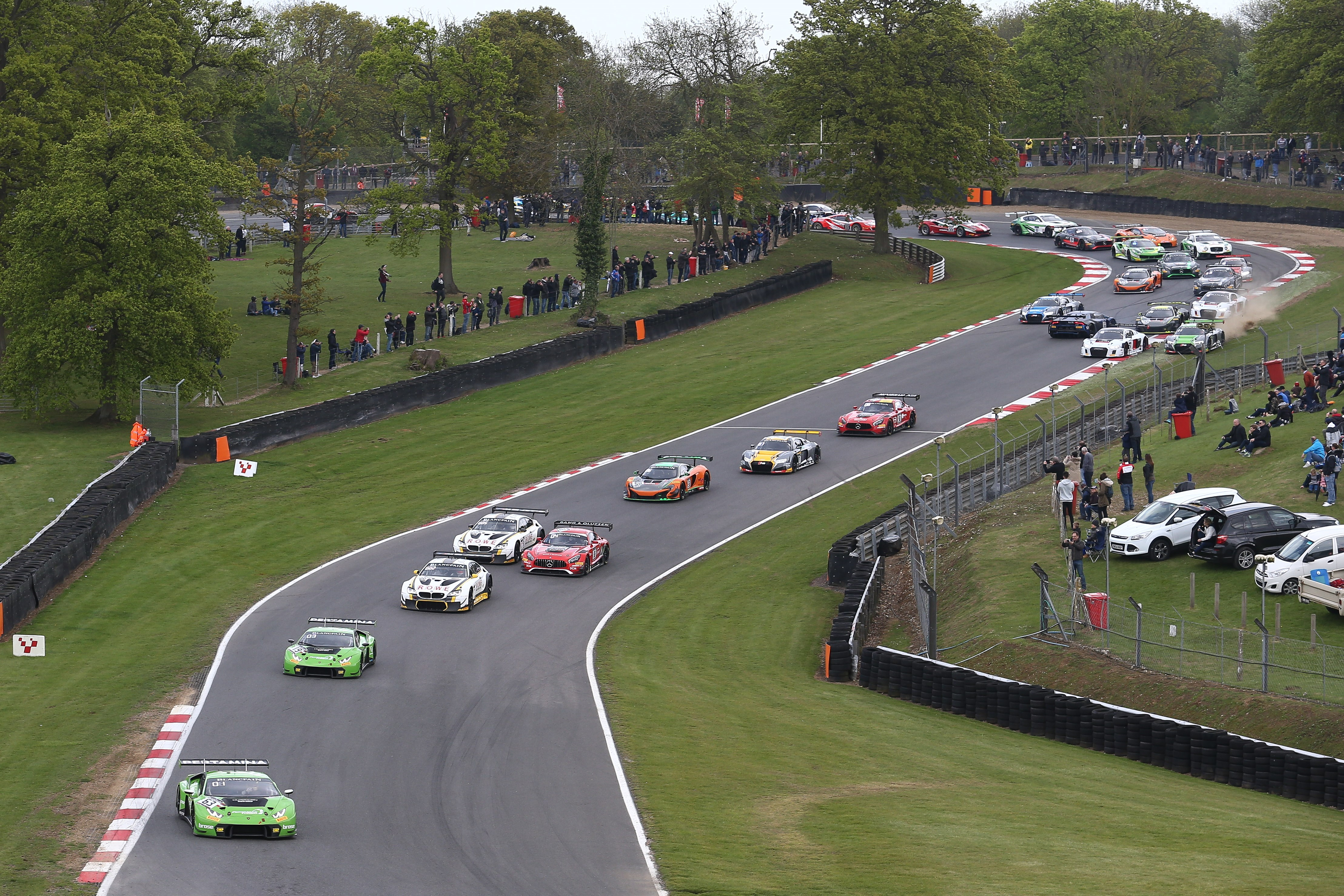 ENGELHART AND BORTOLOTTI CELEBRATE CLEAN SWEEP AT BRANDS