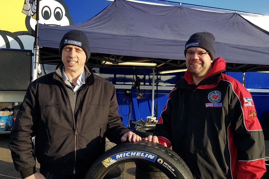 MSVR News - Motorsport News Circuit Rally Championship Teams up with Michelin for a Fourth Season
