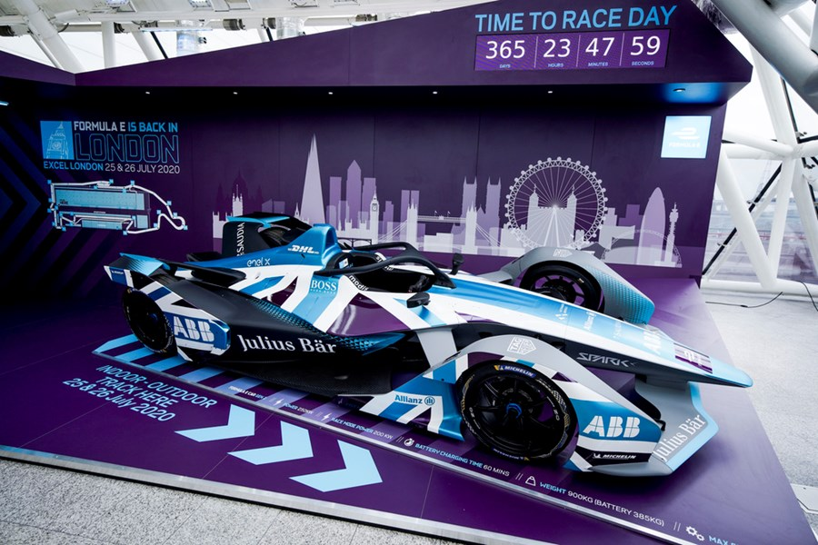MSVR News - MSVR Appointed Sporting Provider for 2020 ABB Formula E London E-Prix
