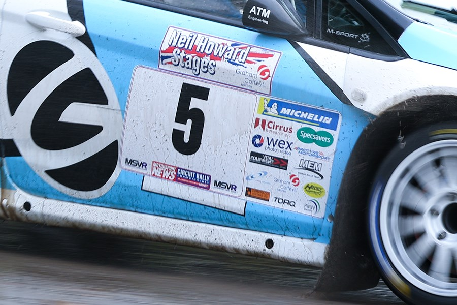 Quintet sign up to MSN Rally Championship
